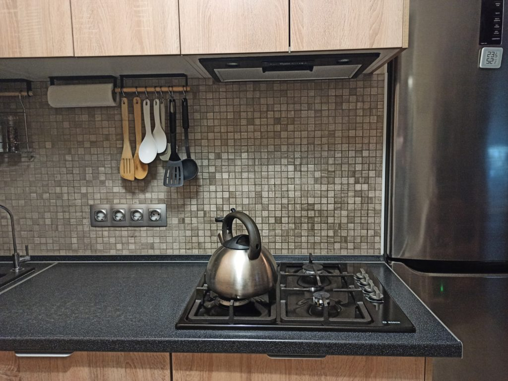 Газовая плита на кухне в хрущевке